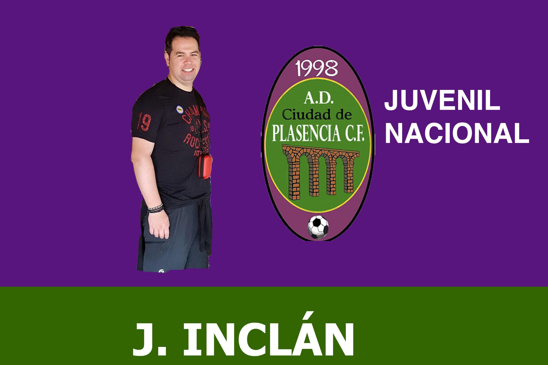 Javier Inclán, entrenador del Juvenil Nacional